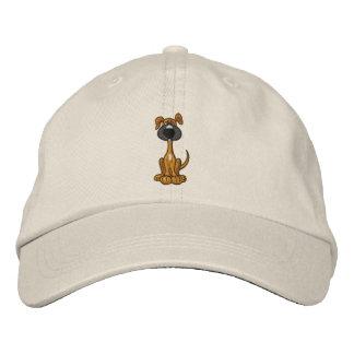 CA gorra bordado lindo del perro de perrito Gorra De Beisbol Bordada