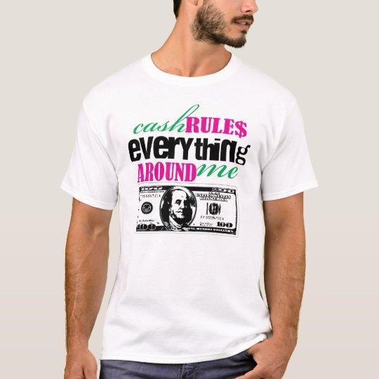 CA$H gobierna la camiseta