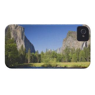 CA, Yosemite NP, opinión del valle con el EL Capit Case-Mate iPhone 4 Carcasas