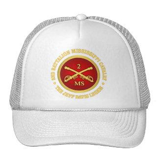 Caballería de Mississippi del batallón de CSC -2nd Gorro