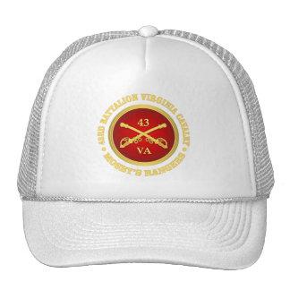 Caballería de Virginia del batallón de CSC -43rd Gorras