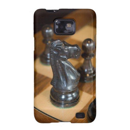 Caballero Funda-Negro de Smartphone de la galaxia  Galaxy S2 Carcasas