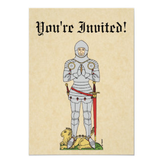 Caballero inglés, circa 1430, invitación