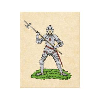 Caballero inglés del siglo XV Lienzo