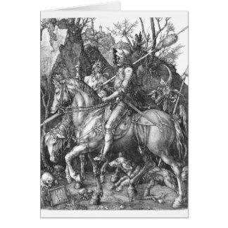 caballero medieval tarjeta de felicitación