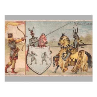 Caballeros de las Edades Medias Postal