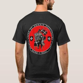Caballeros Hospitaller que marcha para luchar la Camiseta