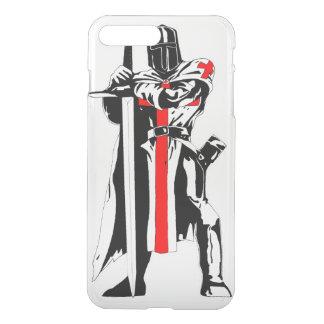 Caballeros Templar iPhone7 más el caso de Clearly™ Funda Para iPhone 7 Plus