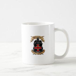 Caballeros Templar Taza De Café