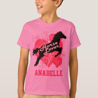 Caballo Anabelle personalizado amante Camisetas