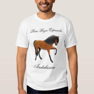 Caballo andaluz de la bahía, Pura Raza Espanola Camisetas