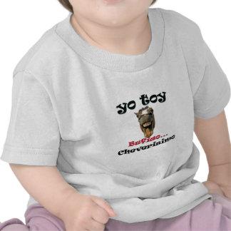 Caballo Bufiao Camisetas