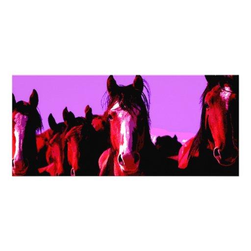 Caballo - caballos tarjetas publicitarias a todo color de Zazzle.