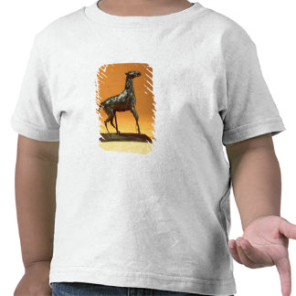 Caballo Caracoling (bronce) Camisetas