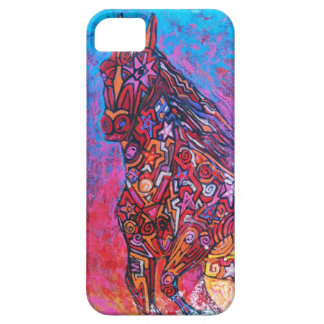 Caballo/caso mágico del iphone funda para iPhone SE/5/5s