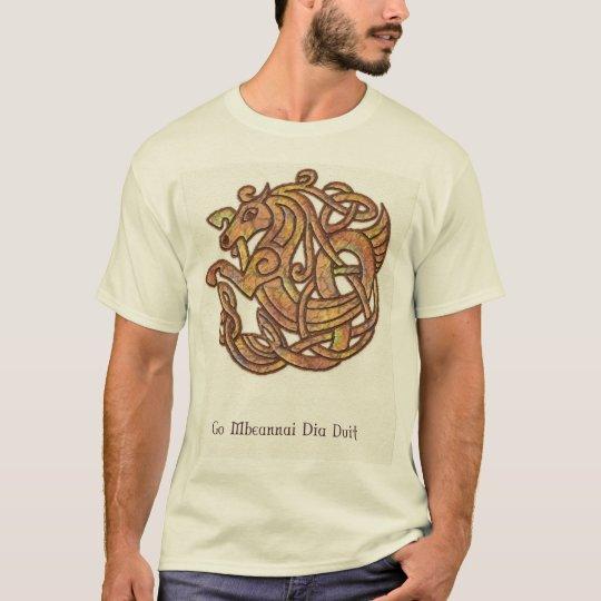 Caballo céltico camiseta