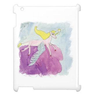Caballo con alas potro de Alicorn de la acuarela