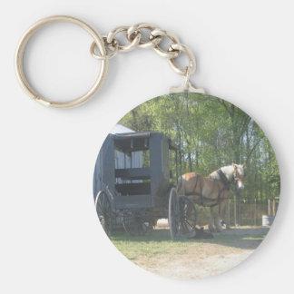 Caballo de Amish Llavero