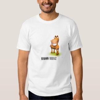 Caballo de Brown Camisetas