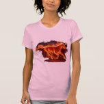 Caballo de fuego. camisetas