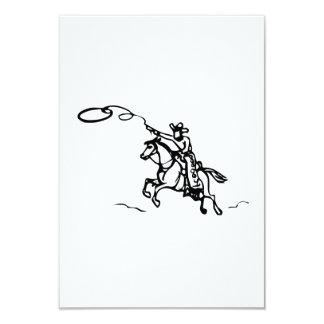 Caballo de montar a caballo del vaquero con el comunicados