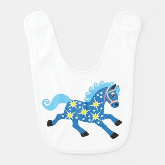 caballo decorativo babero