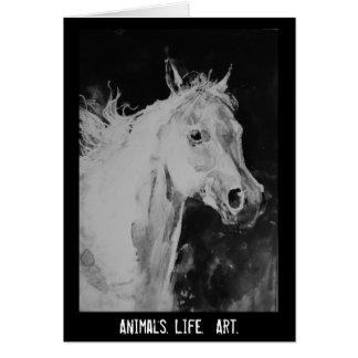 caballo del alcohol tarjeta de felicitación
