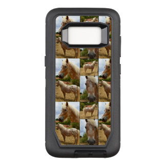 Caballo del Appaloosa, caja de la galaxia S8 de Funda Otterbox Defender Para Samsung Galaxy S8