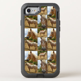 Caballo del Appaloosa, caso del iPhone 7 de Funda OtterBox Defender Para iPhone 7
