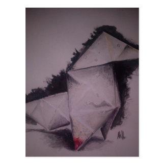 caballo del origami postal