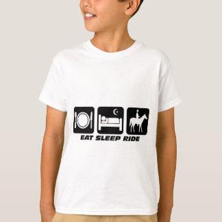 Caballo divertido camiseta
