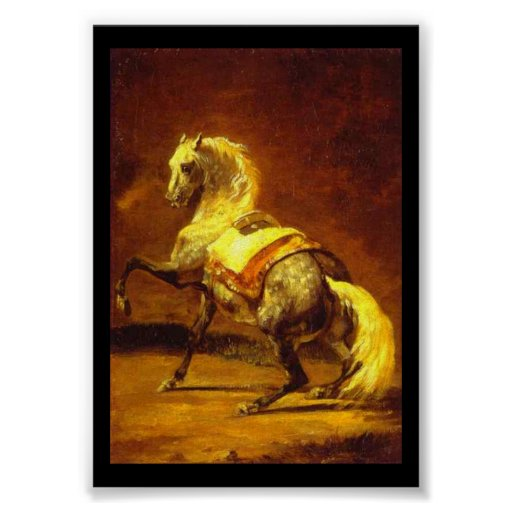 CABALLO GRIS DAPPLED POSTERS