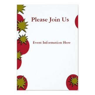 Caballo Invitación 12,7 X 17,8 Cm