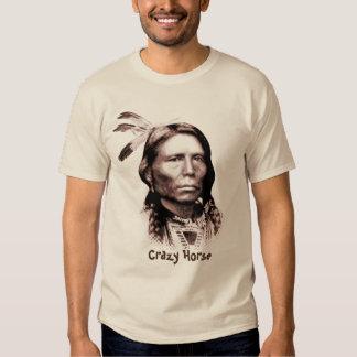 Caballo loco camisetas