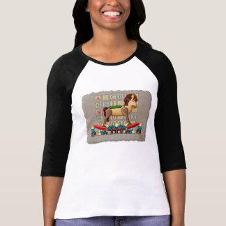 Caballo mecedora de Amish Camiseta