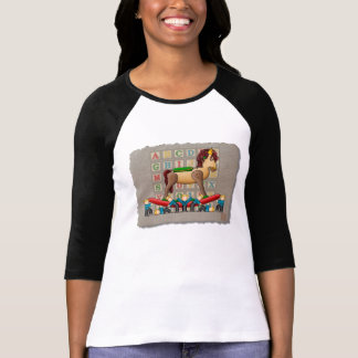 Caballo mecedora de Amish Camisetas