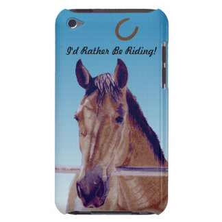 Caballo occidental hermoso funda para iPod de barely there