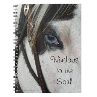 Caballo Windows al cuaderno o al diario del alma