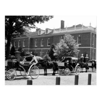 Caballo y carro Philadelphia Postal