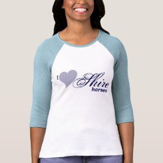Caballos de condado camisetas