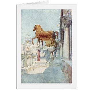Caballos de San Marco Tarjetas