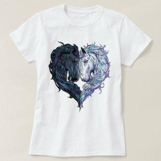 Caballos del amor camiseta