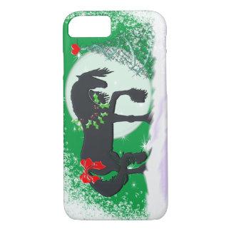 Caballos del corazón VI (árbol del día de fiesta) Funda iPhone 7