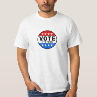 Caballos del voto camiseta