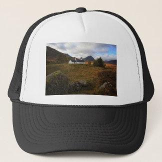 Cabaña de Blackrock, Glencoe, Escocia Gorra De Camionero