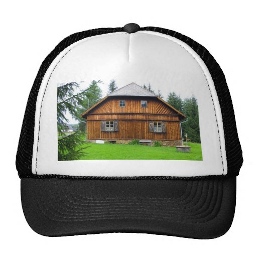 Cabaña de madera en Bohemia del sur Gorros