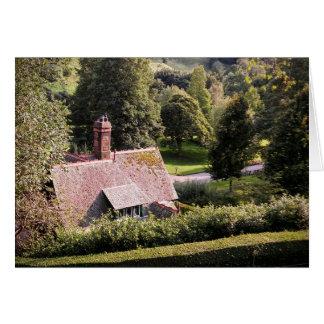 Cabaña en los jardines - paquete de la tarjeta de