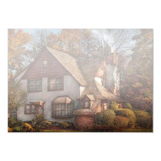 Cabaña - Westfield, NJ - cabaña de la familia Invitación 12,7 X 17,8 Cm