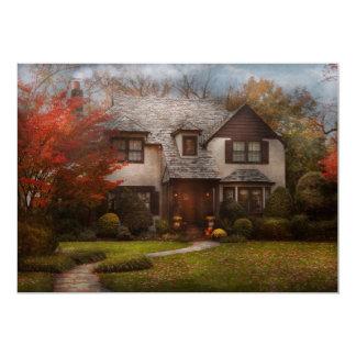 Cabaña - Westfield, NJ - la vida en el campo Invitación 12,7 X 17,8 Cm