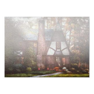 Cabaña - Westfield, NJ - un lugar a retirarse Invitación 12,7 X 17,8 Cm